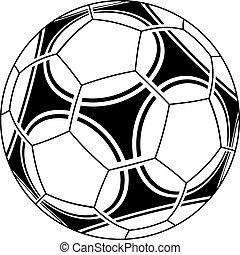 vector soccer ball