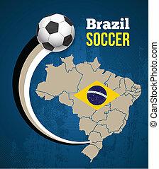 Vector soccer.