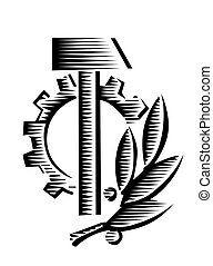 vector socialist symbol