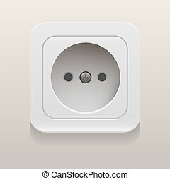 Vector socket | eps10