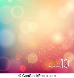 Soft colored abstract background for design - Vector Soft...