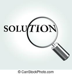 Vector solution concept