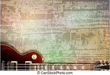 vector, sonido, clásico, resumen, ilustración, gris,...
