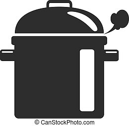 Vector Soup Black Icon