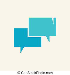 Vector speech bubble icon