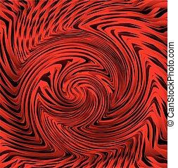 Vector Spiral Striped background