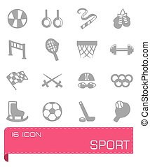 Vector Sport icon set