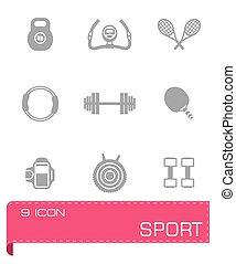 Vector Sport icon set