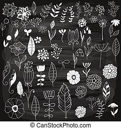 Vector Spring Floral Design Elements