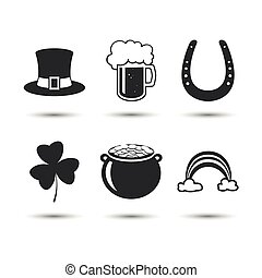 Vector St. Patrick's Day Design Elements