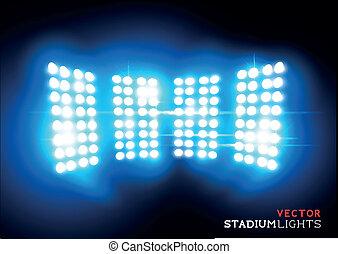 Vector Stadium Floodlights