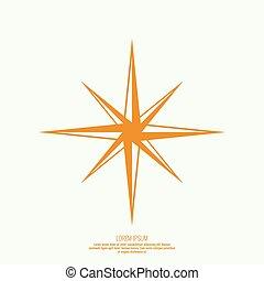 Vector star icon.