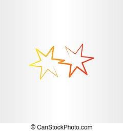 vector star icon sign illustration