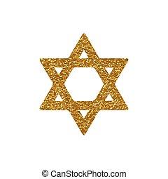 Vector star of David