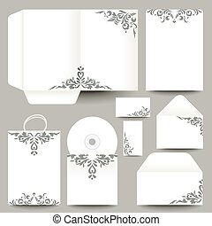 vector stationery design - stationery design - vector...