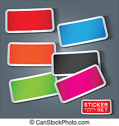 Vector Sticker Set
