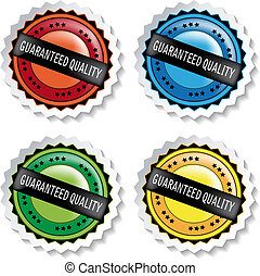 Vector stickers - guaranteed quality