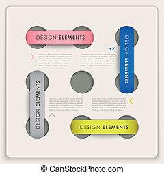 vector, stijl, infographic, communie, etiket