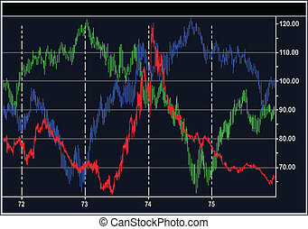 stock diagrams - Vector stock diagrams