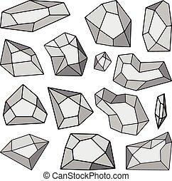 Vector stone set