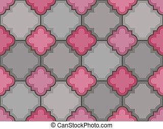 Vector stones floor tile seamless pattern