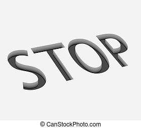 vector stop icon design