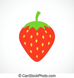 Vector strawberry illustration