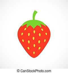 Vector strawberry illustration