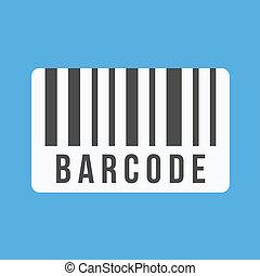 vector, streepjescode, pictogram