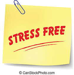 Vector stress free message