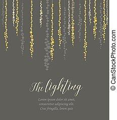 Vector string lights