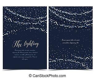 String Lights Clip Art And Stock Illustrations 7807