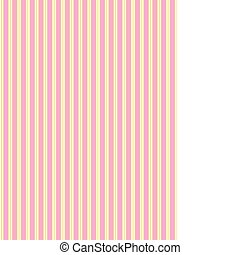 Vector swatch striped fabric wallpaper in pink, gold and ecru that matches Valentine borders.