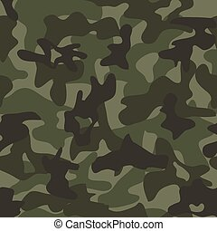 vector summer camouflage, seamless background pattern
