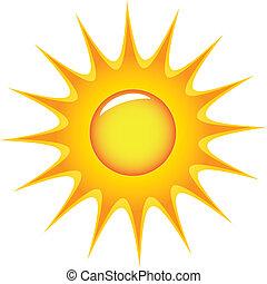 sun - vector sun symbol