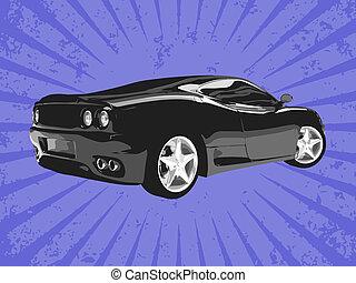 Vector supercar