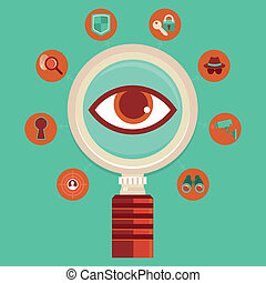 Vector surveillance and control concepts - big brother is...