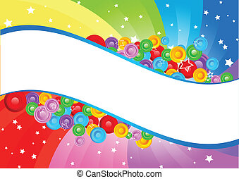 Vector swirl abstract background