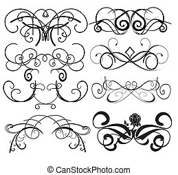 Vector Swirl elements