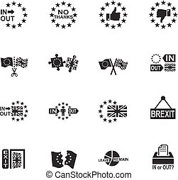 vector symbol of brexit