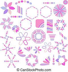 Vector symbols collection