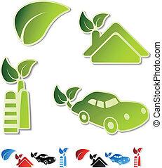 Vector symbols of ecology