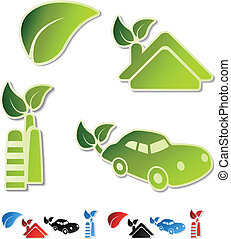 Vector symbols of ecology
