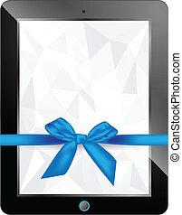 vector tablet gift