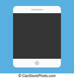 Vector Tablet Icon