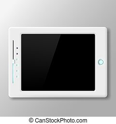 Vector Tablet Screen