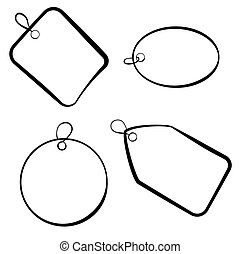 tag rectangle square oval circle sketch