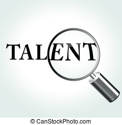 Vector talent illustration