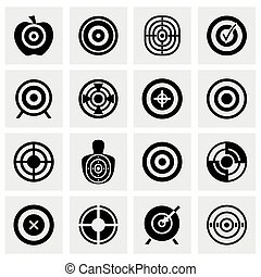 Vector Target icon set