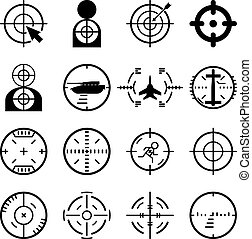 Vector target icons